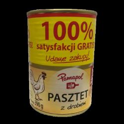 Паштет курячий Pamapol Pasztet z drobiem 390g