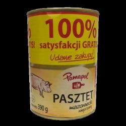 Паштет свинний Pamapol Pasztet z drobiem 390g