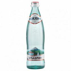 Вода Боржомі  мінеральна сильногазована 0,5л скло