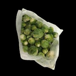 Брюсельська капуста(морожена)фас.0,5кг