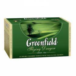 Чай Flying Dragon зелений 2г*25 Ґрінфілд