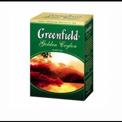 Чай Golden Ceylon чорний 100г Ґрінфілд