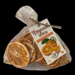 Фруктові чіпси апельсин 50г