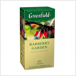 Чай Грінфілд Barberry Garden чор. 1,5*25