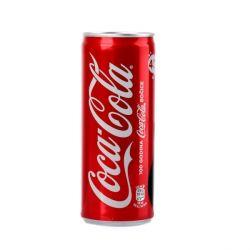 Напій Кока кола безалкогольний сильногазований 330мл з/б