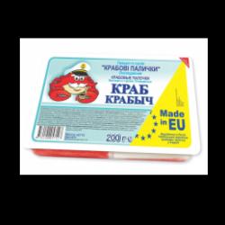 Крабові палички Краб Крабич 200