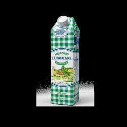 Молоко ультрапастеризоване 1,5% 950г Селянське