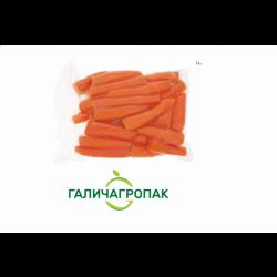 Морква вакуумна чищена 1 кг