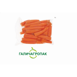 Морква вакуумна чищена 5 кг