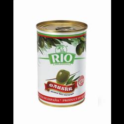 Оливки без кісточки 280г ж/б Сантарріта