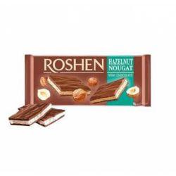 Шоколад Roshen мол. з горіховою нугою 90 г