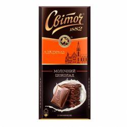 Шоколад Світоч молочний 90 г