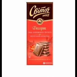 Шоколад Полуничний йогурт 90г Світоч