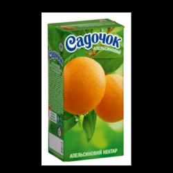 Сік Апельсиновий нектар 950 мл Садочок