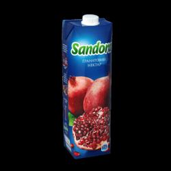 Сік Гранатовий нектар 950 мл Sandora