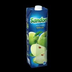 Сік Яблучний 950 мл  Sandora