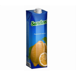 Сік Лимонний нектар 0.950л. Sandora