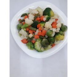 Суміш овочів Весняна морожена фасована 1кг