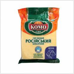 Сир Російський ТМ Комо (брусок 150г)