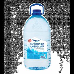 Вода Карпатська Джерельна негазована 6л
