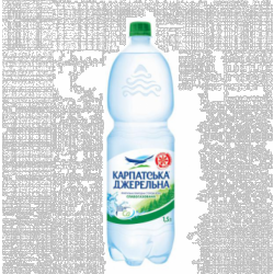 Вода слабогазована 1,5 л Карпатська Джерельна