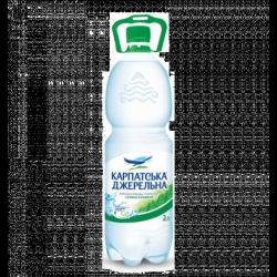 Вода  Карпатська Джерельна слабогазована 2л