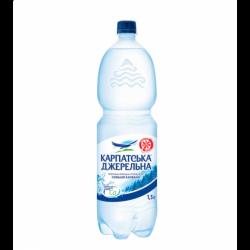Вода Карпатська Джерельнасильногазована 1.5л