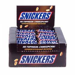 Батончик Snickers 40 шт