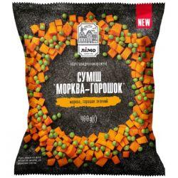 Овочева суміш Морква з горошком (замор) 400г
