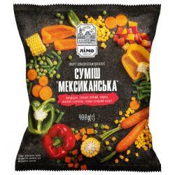 Овочева суміш Мексиканська(морожена)фас. ТМ Лімо0,4кг